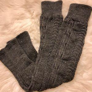 Bundle of 4 leg warmers